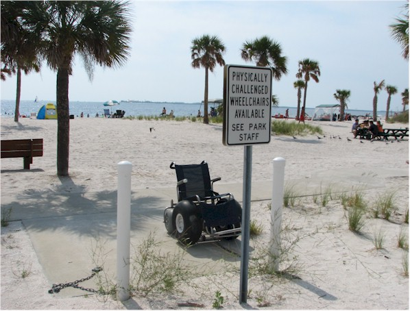 Florida disabled outdoor activities wheelchair vans Motor scooters jacksonville fl
