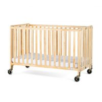 Folding Wooden Baby Crib Rental