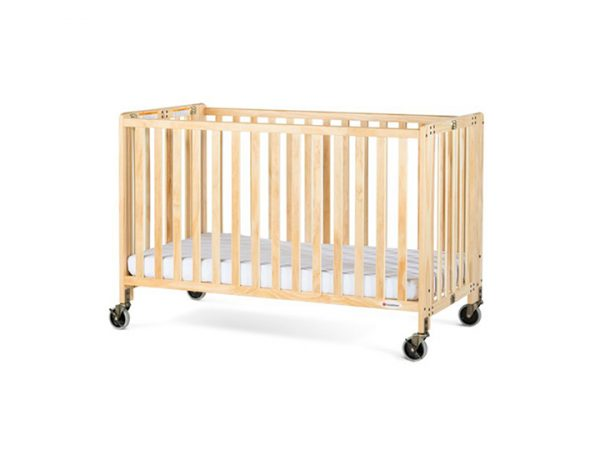 Folding Wooden Baby Crib Rental