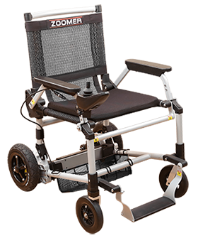 Zoomer Ultra-Portable Motorized Lightweight Folding Mobility Power Chair